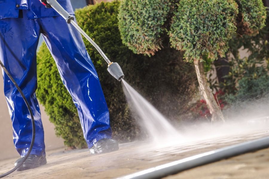 Pressure Washing by Orcutt Painting Company
