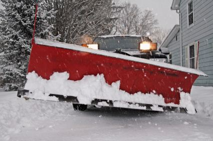 Snow Plowing by Orcutt Painting Company, Inc