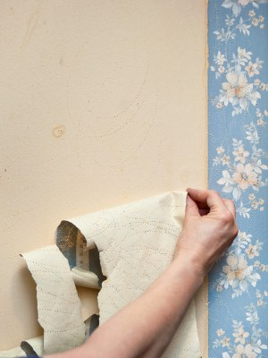 Wallpaper removal in Medford, MA by Orcutt Painting Company, Inc.