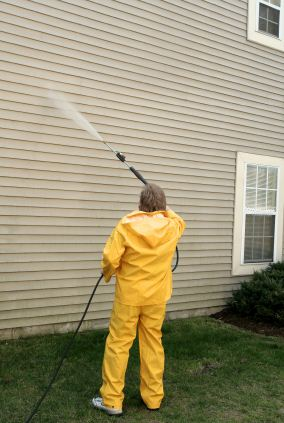 Pressure washing in Stoneham, MA by Orcutt Painting Company, Inc.