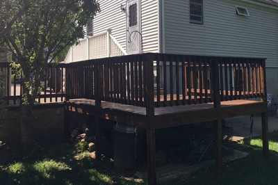 Deck Staining in Revere MA by Orcutt Painting Company, Inc